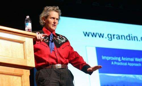 Temple Grandin on how animals think and feel