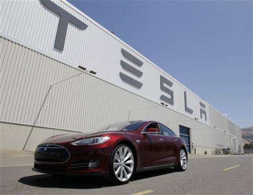 Tesla fire shows electrics face safety challenges
