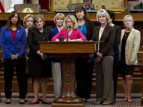 Texas lawmakers approve abortion restrictions