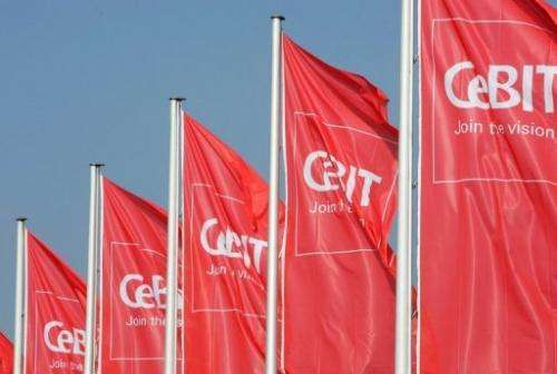 The CeBIT, the world's biggest high-tech fair in the northern city of Hanover, runs until March 9
