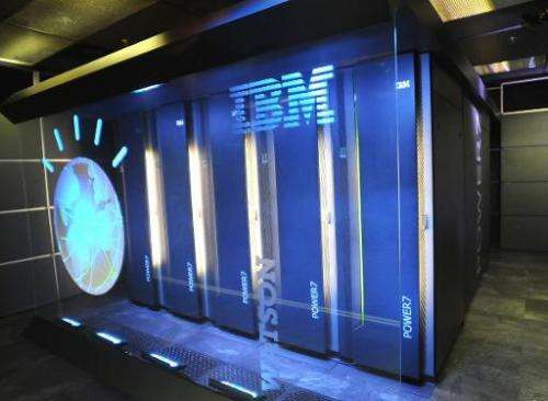 The IBM-powered Watson computer that triumphed on US gameshow Jeopardy