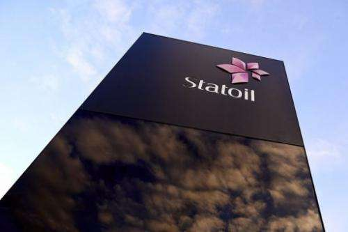 The logo of Statoil is pictured on January 17, 2013 in Stavanger, Norway