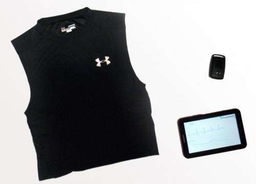 Intelligent training with a fitness shirt and an E-bike