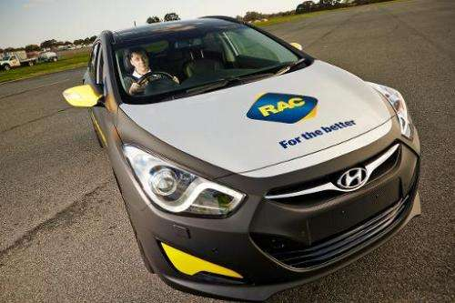 The Royal Automobile Club of Western Australia have unveiled the world's first 'attention-powered' car on September 25, 2013