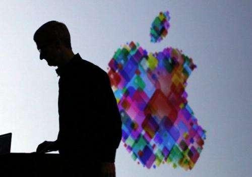 Tim Cook delivers the keynote address at the Apple 2012 World Wide Developers Conference on June 11, 2012