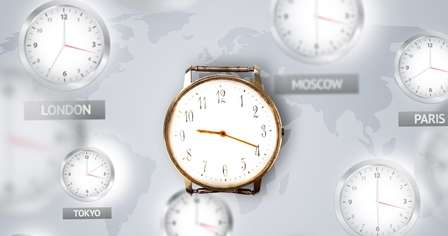 Time difference have significant negative impact on international trade