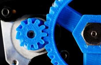 Titanium Powder used to 3D print automotive parts