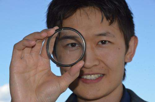 UBC engineer helps pioneer flat spray-on optical lens