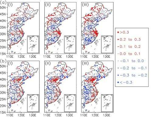 Urbanization and surface warming in eastern China