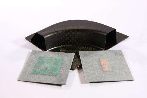 Using RFID for fiber composites