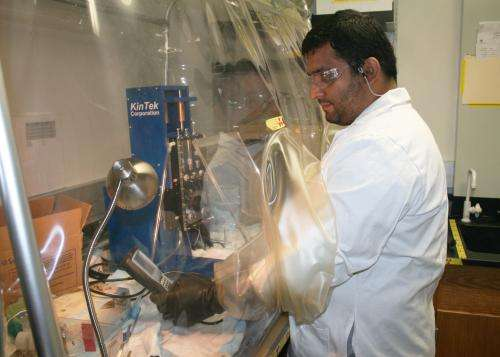 USU biochemist studies nitrogen fixation