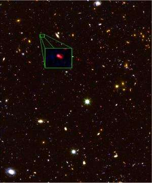 UT, Texas A&M astronomers discover universe's most distant galaxy
