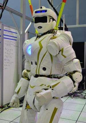 Valkyrie steps forth as DARPA robotics contender