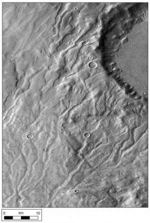 Valley networks suggest ancient snowfall on Mars