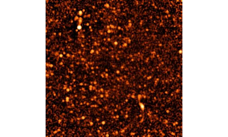 Very Large Array gives deep, detailed image of distant Universe