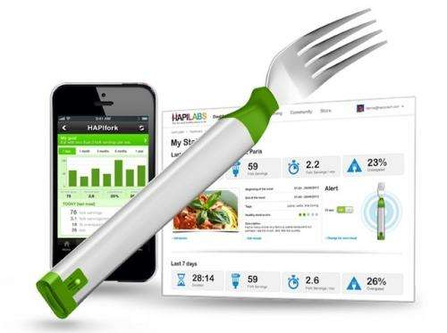 Vibrating fork to combat obesity makes its debut