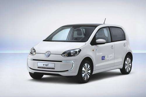 Volkswagen shows all-electric four-seater at Wolfsburg meet
