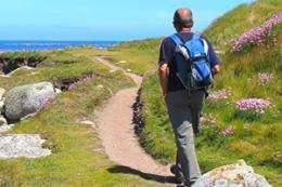Walking leads to better health for older men