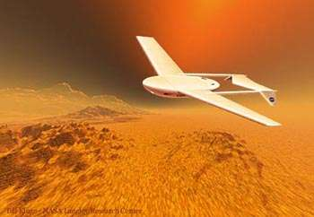 What's the best design for a flying Mars robot?