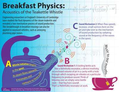 whither the teakettle whistle breakthrough in breakfast musingsengineering researchers at england\u0027s university of cambridge have studied the fluid dynamics of the steam teakettle and revealed a two mechanism process of