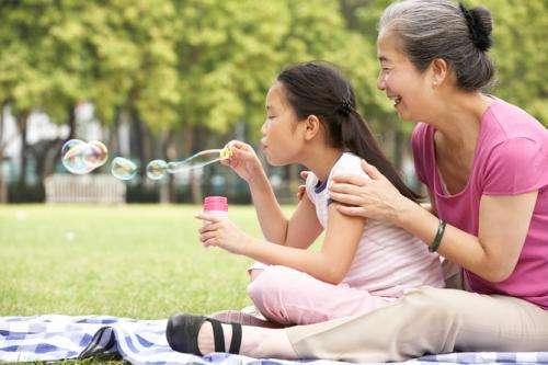 Why do women go through menopause?