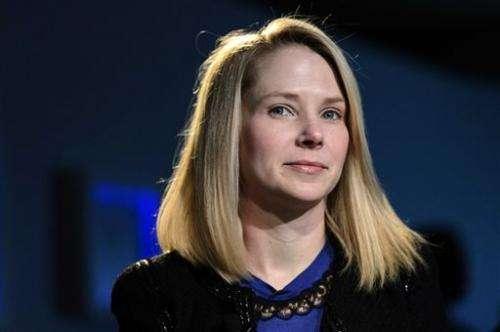 Yahoo's 1Q earnings surge while revenue sags