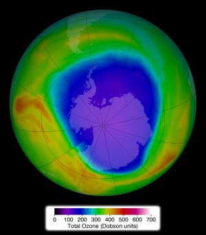 2014 Antarctic ozone hole holds steady