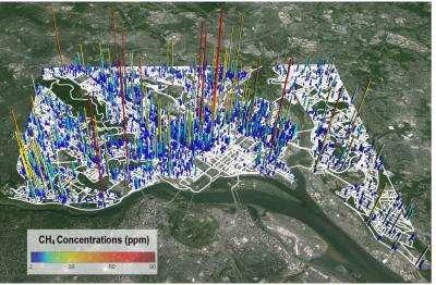 5,900 natural gas leaks discovered under Washington, D.C.
