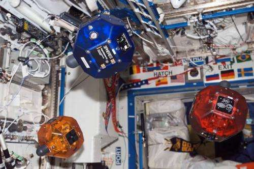 Algorithm tested aboard the International Space Station analyzes the rotation of objects in space
