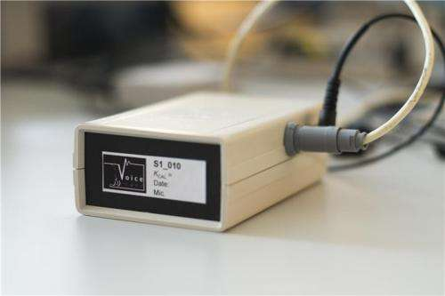 A low-cost voice monitoring device to combat functional dysphonia