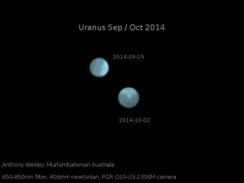 Amateur, professional astronomers alike thrilled by extreme storms on Uranus