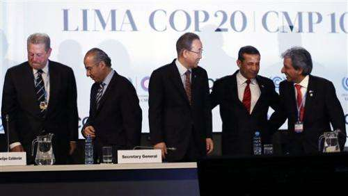 At UN climate talks, a crack in rich-poor barrier