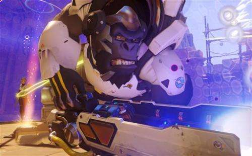 Blizzard unveils shooter 'Overwatch' at BlizzCon