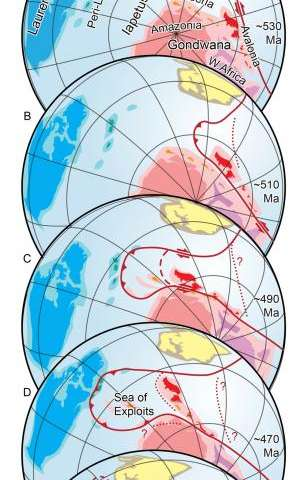 Breakup of ancient supercontinent Pangea hints at future fate of Atlantic Ocean.