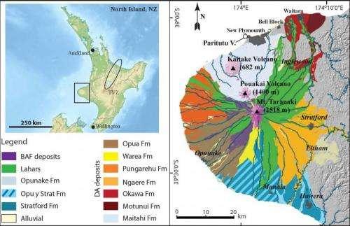 Catastrophic debris avalanches represent a second volcanic hazard