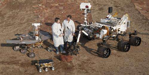 China reveals designs for Mars rover mission