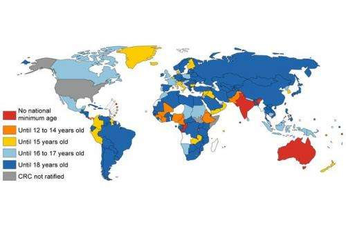 Comprehensive analysis of children's rights in 190 countries