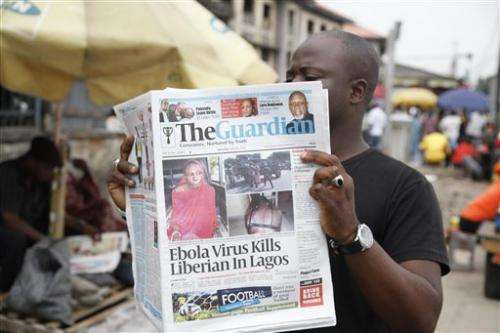 Ebola kills Liberian doctor,  2 Americans infected