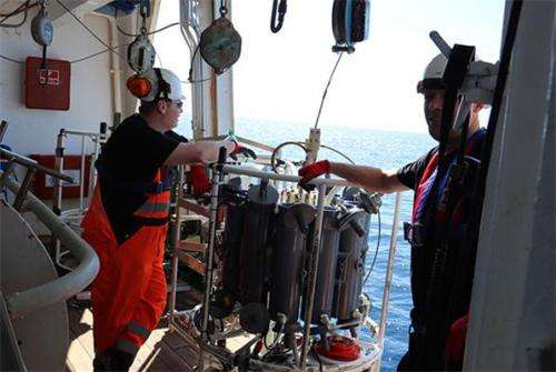 Eel expedition 2014 has arrived in The Sargasso Sea