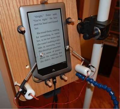 Engineer's ingenuity connects MS patient with touchscreen device