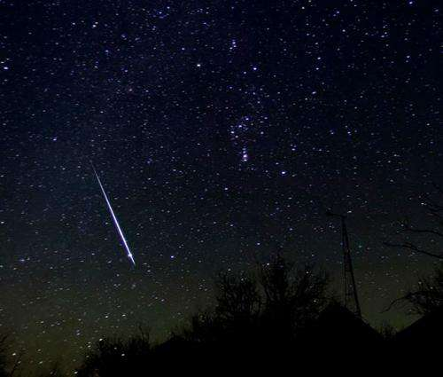 Geminid meteor shower returns December 13-14