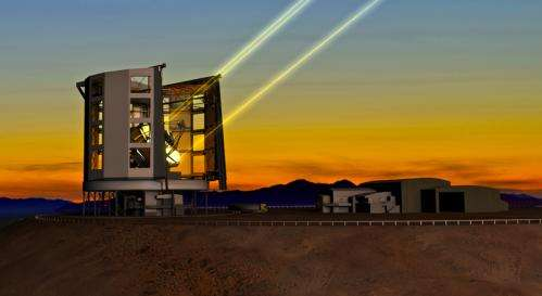 Giant Magellan Telescope looking toward construction