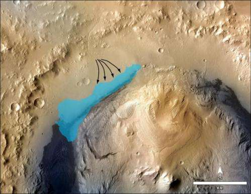 Happy New Year's day 2014 from Mars – Curiosity celebrates 500 sols spying towering mount sharp destination