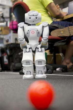Heads up, World Cup teams: The robots are coming