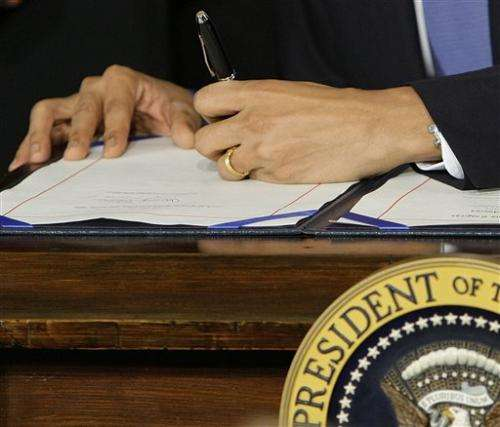 Health law legacy eludes Obama as changes sink in