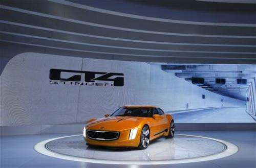 Hot cars at the Detroit auto show