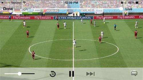 How the world watches the World Cup on TV, online