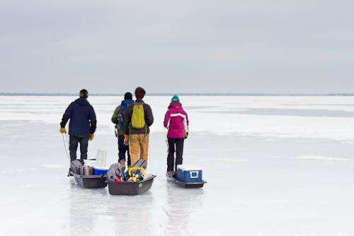 Icy research drills down on summer algae blooms