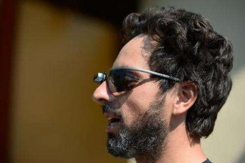 In this file photo, Google co-founder Sergey Brin is seen wearing Project Glass prototype glasses, during Allen & Company's
