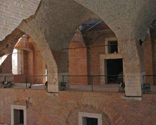 Key to longevity of imperial Roman monuments